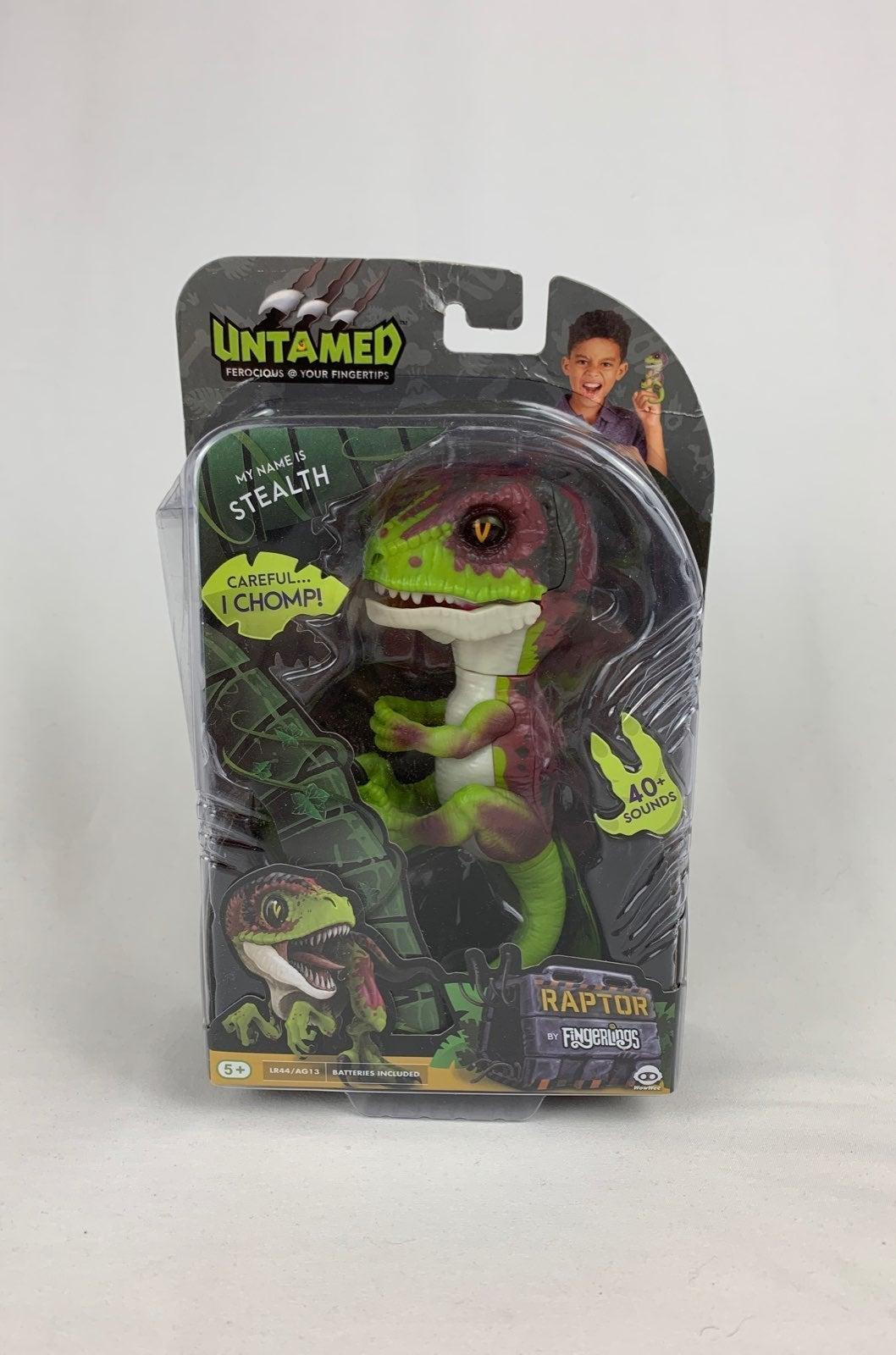 WowWee Untamed Raptor - Stealth