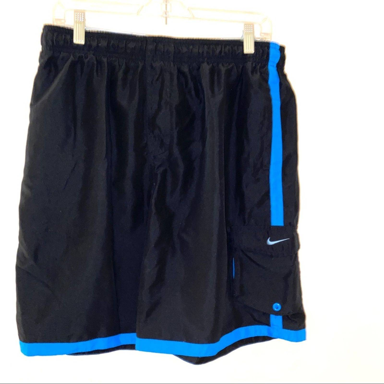 Nike mens swim trunks S black  shorts