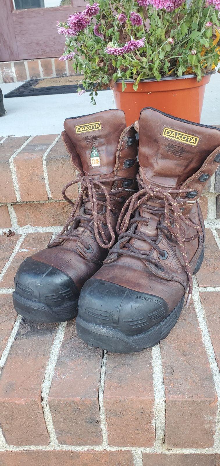 Dakota premium work boots sz 10.5 TARANT
