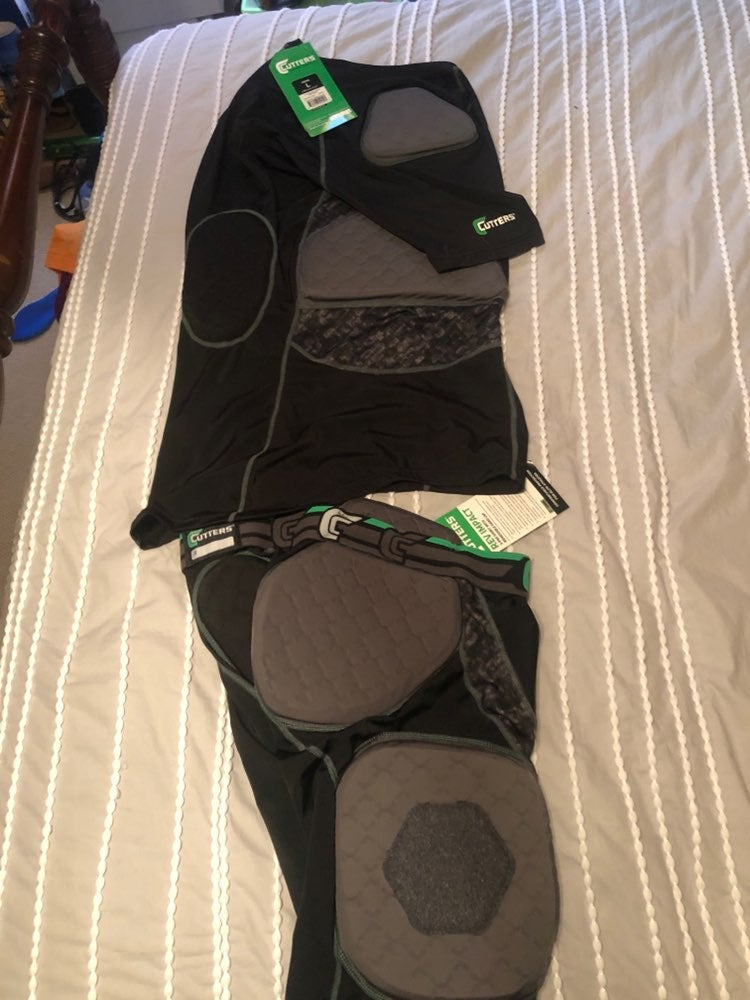 Cutters football girdle and shirt