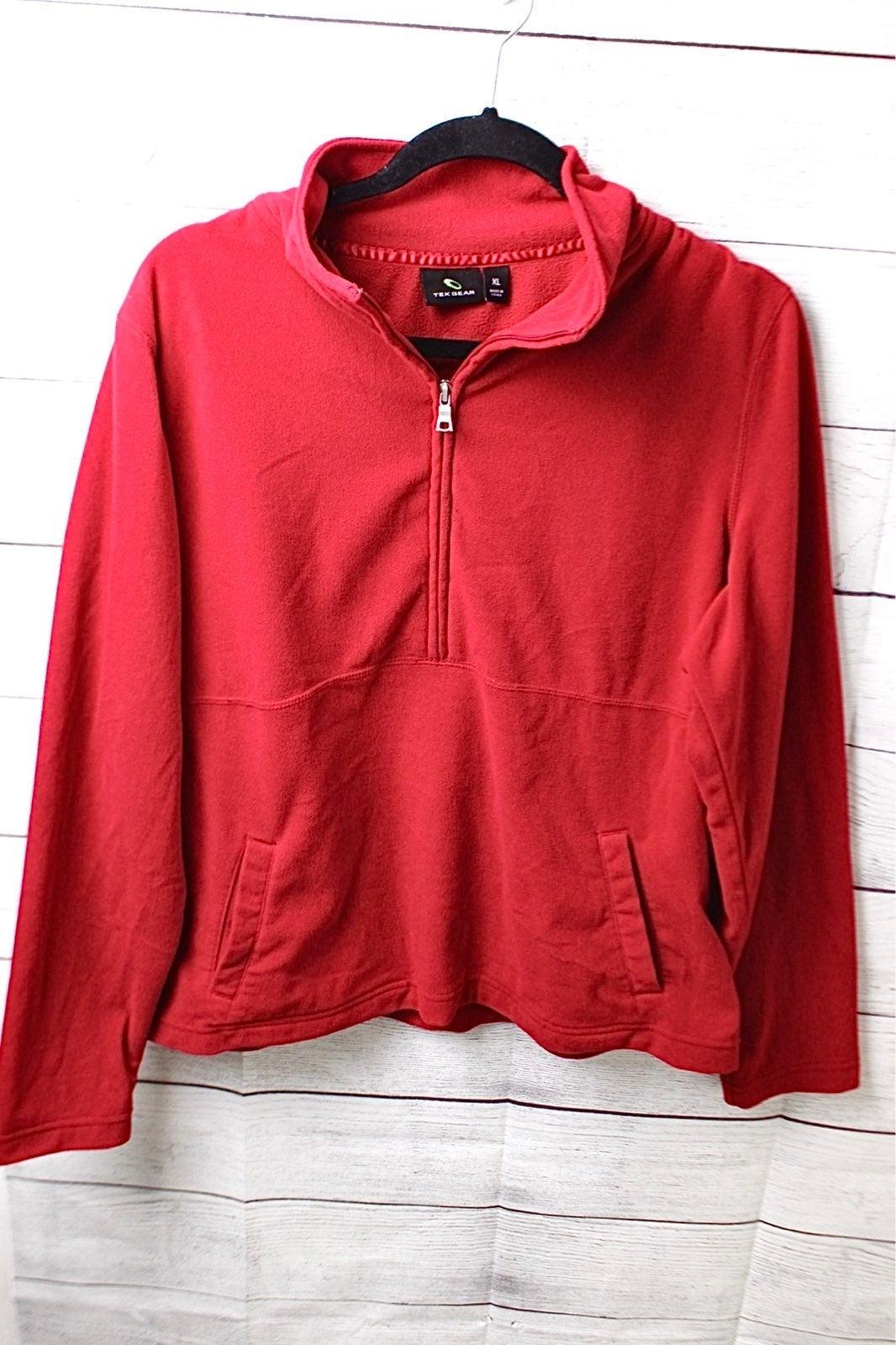 Tek Gear Fleece half zip pullover