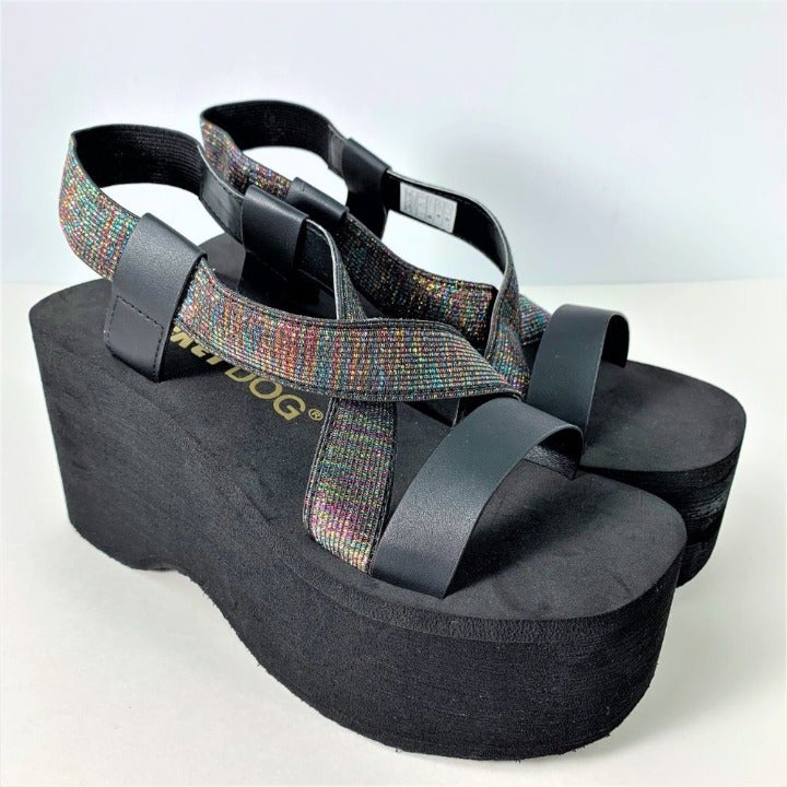 Rocket Dog Bayer Wedge Sandal Metallic