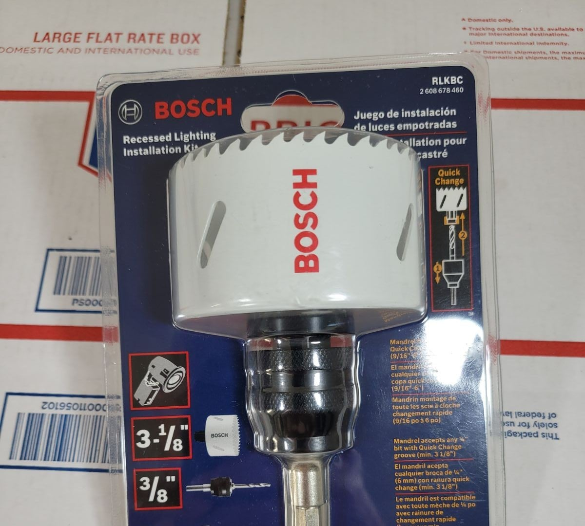"""Bosch 3-1/8"""" Recessed Lighting Installat"""