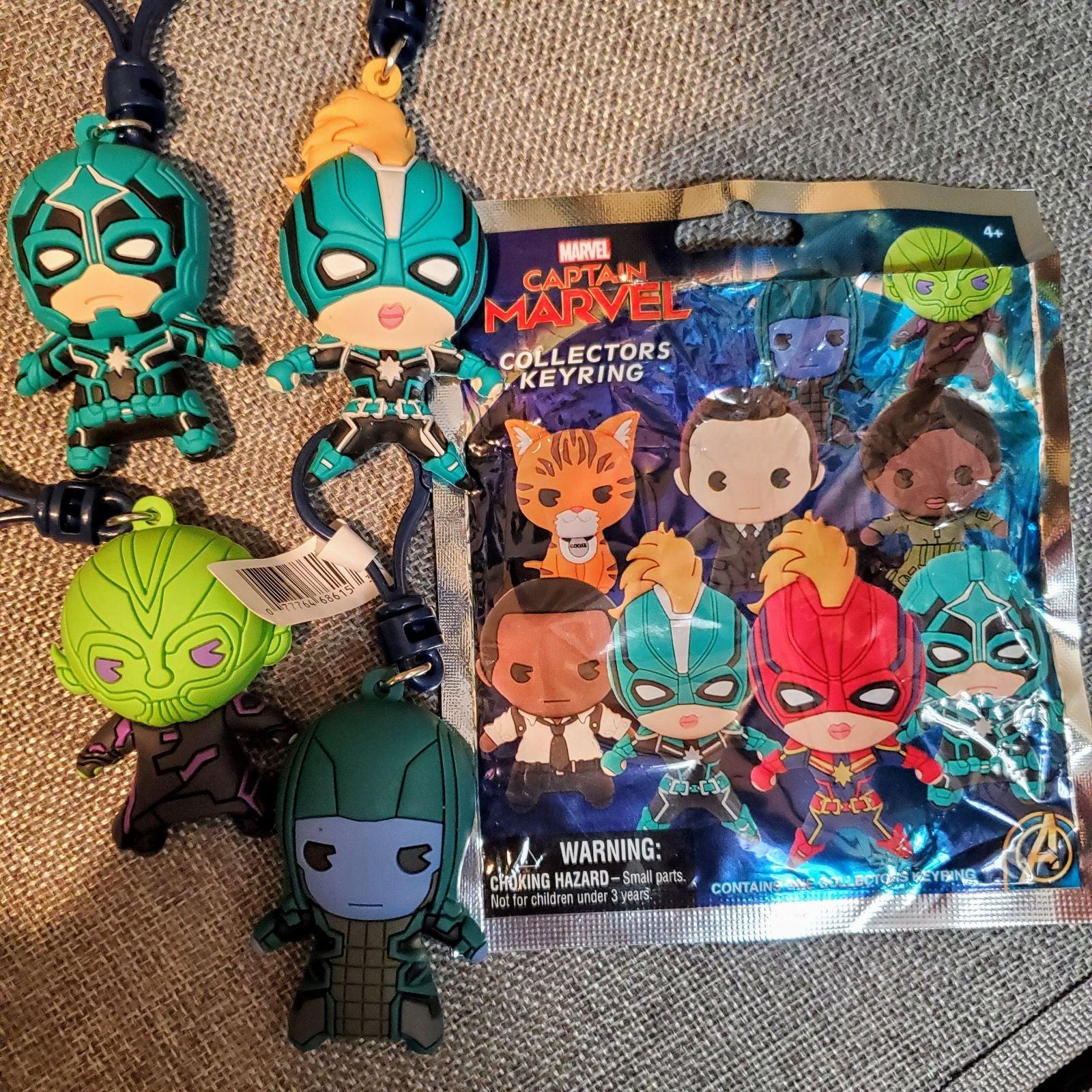 Captain Marvel Keychain avengers lot
