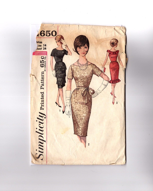 Vintage Pattern Cocktail Dresses