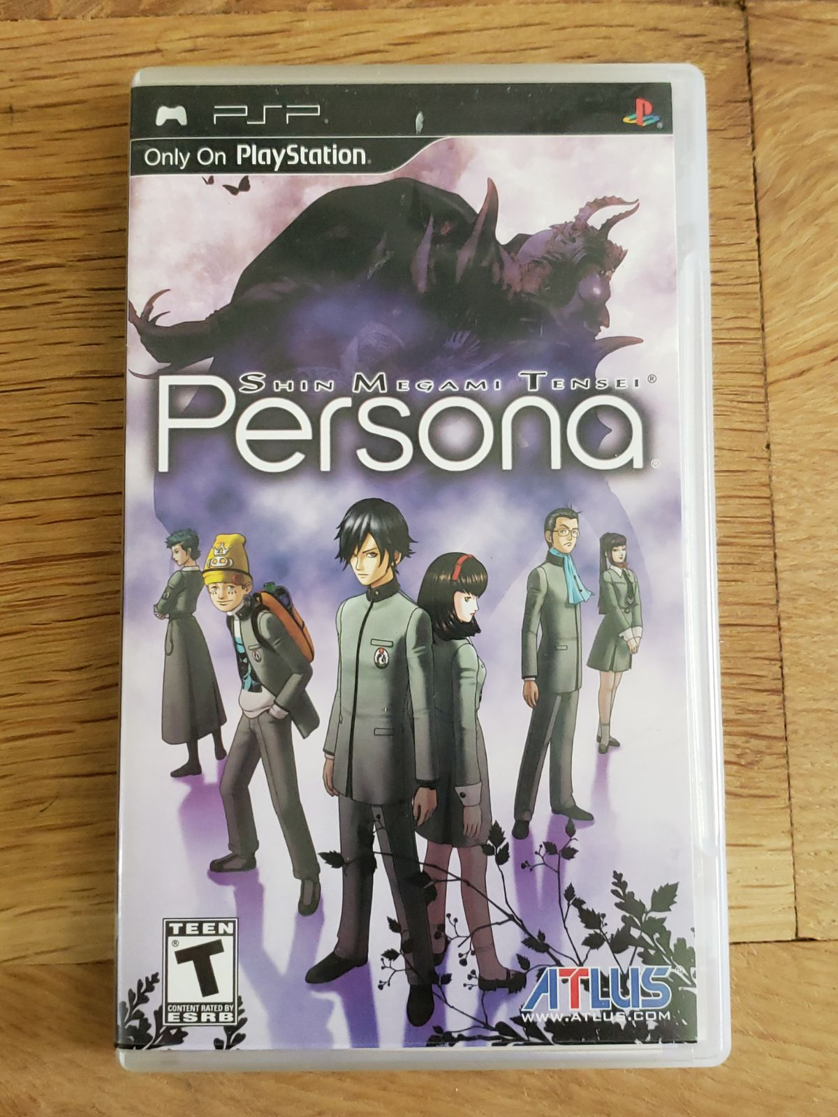 SMT Persona on PSP CIB! TESTED!