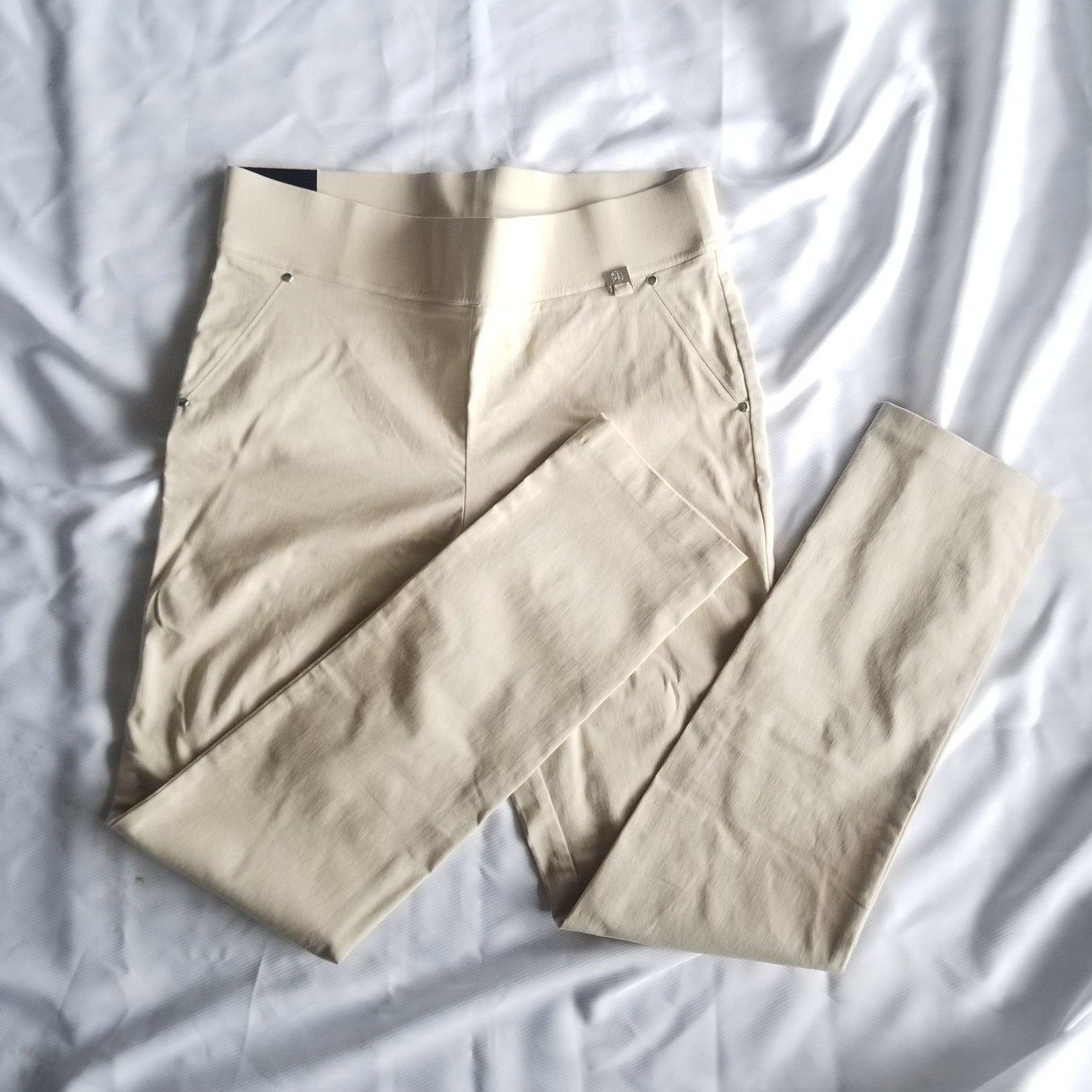 Rafaella Stretchy Beige Pants NWT 12
