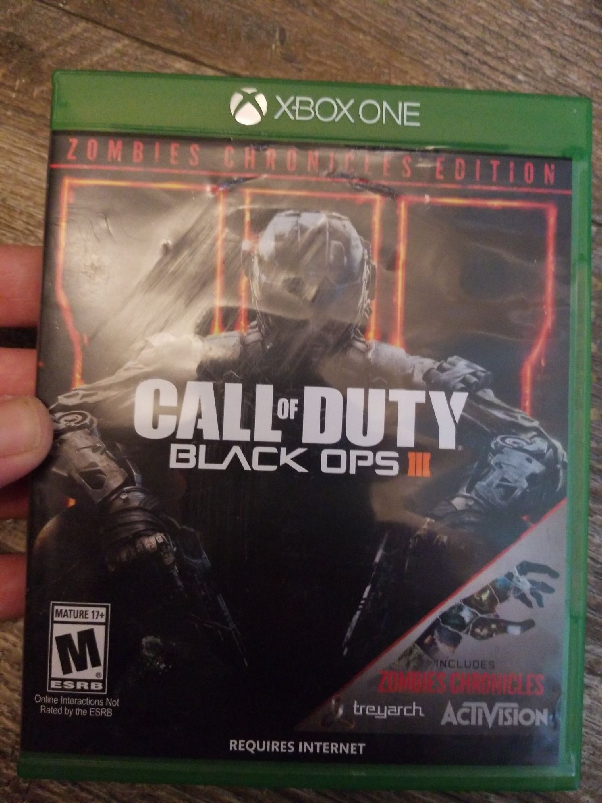 LN xbox1 call of duty 3 zombie chronical