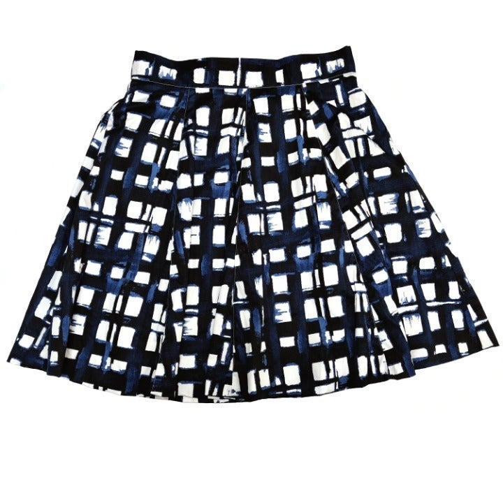 Amanda & Chelsea Windowpane Skirt 10