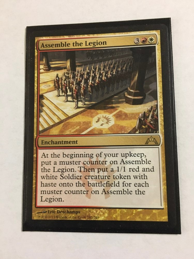 Assemble of legion enchantment MTG cards