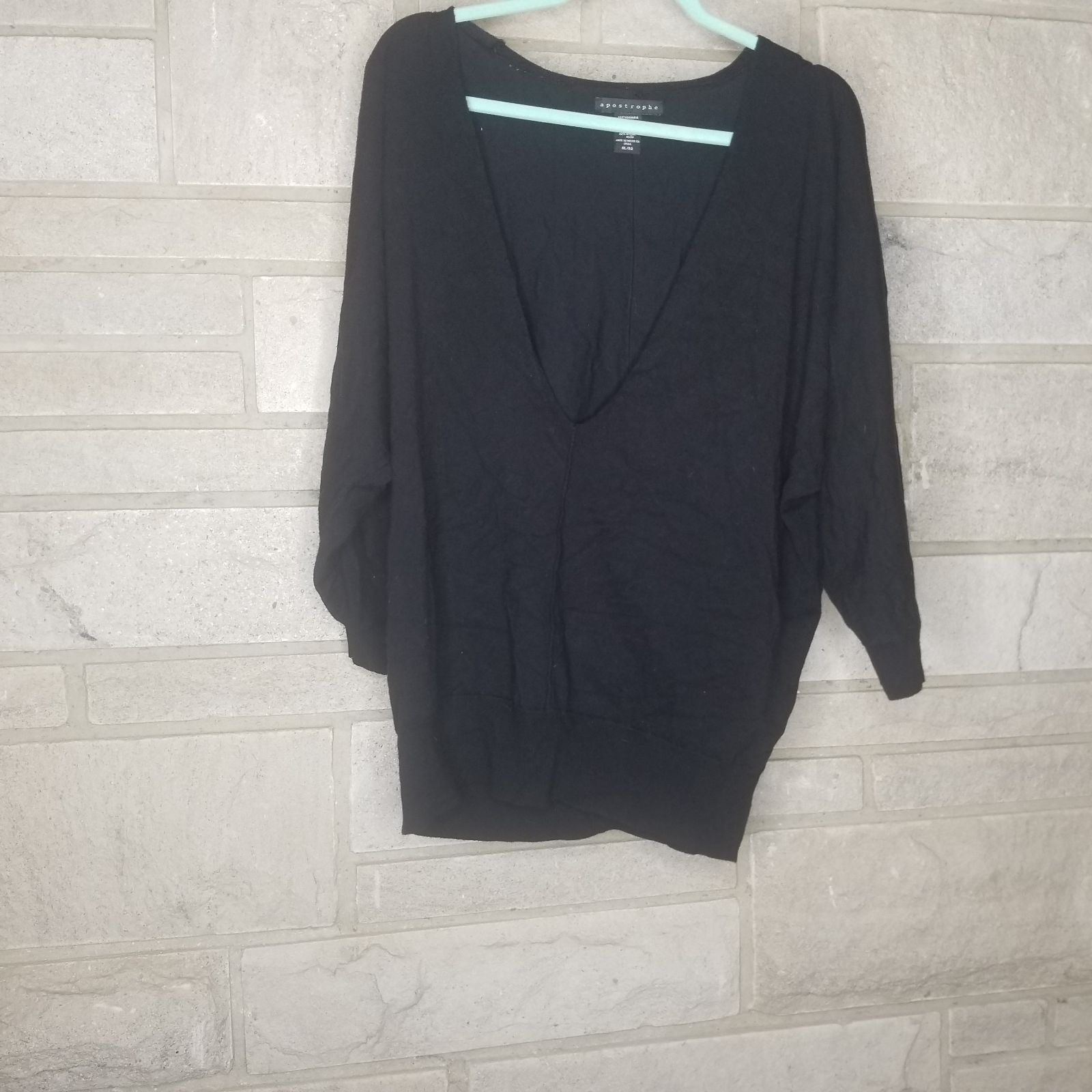 Apostrophe XL black top