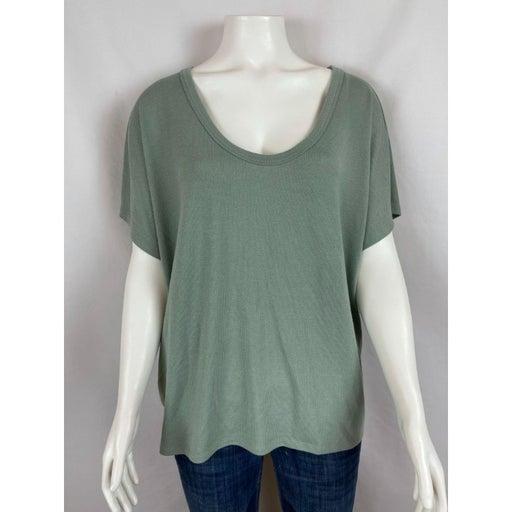 Gap Short Sleeve Shirt Large Dolman Knit Top