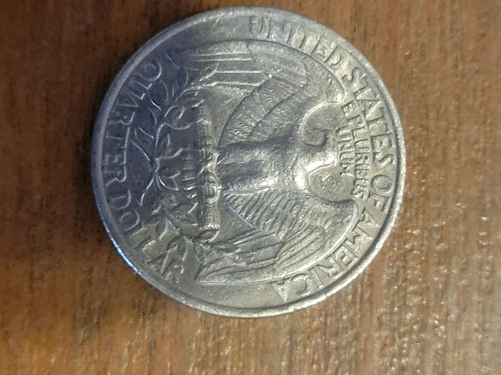 1977 Quarter No Mint