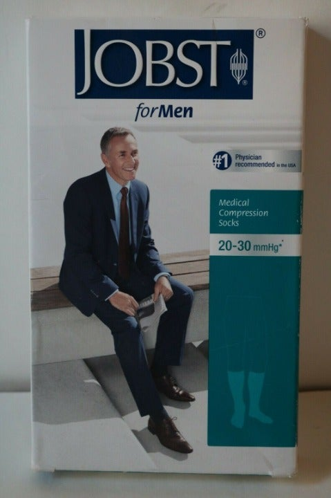 NEW Jobst For Men Mens Knee High Closed