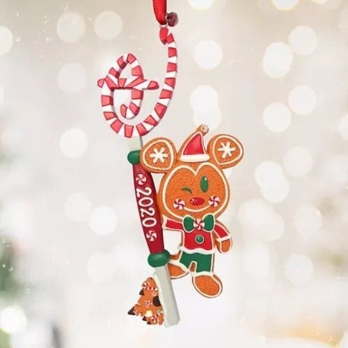 Disney Gingerbread 2020 Key Ornament
