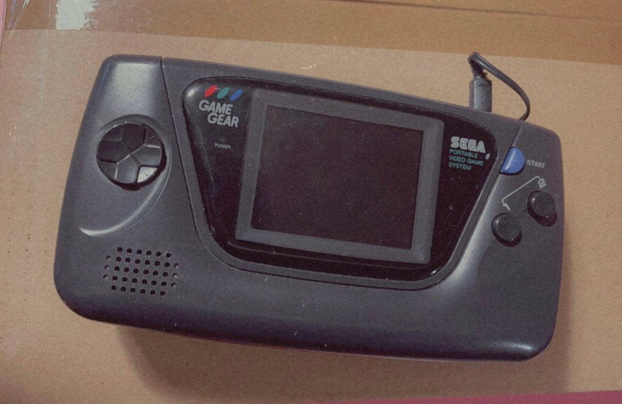 game gear Sega game gear console