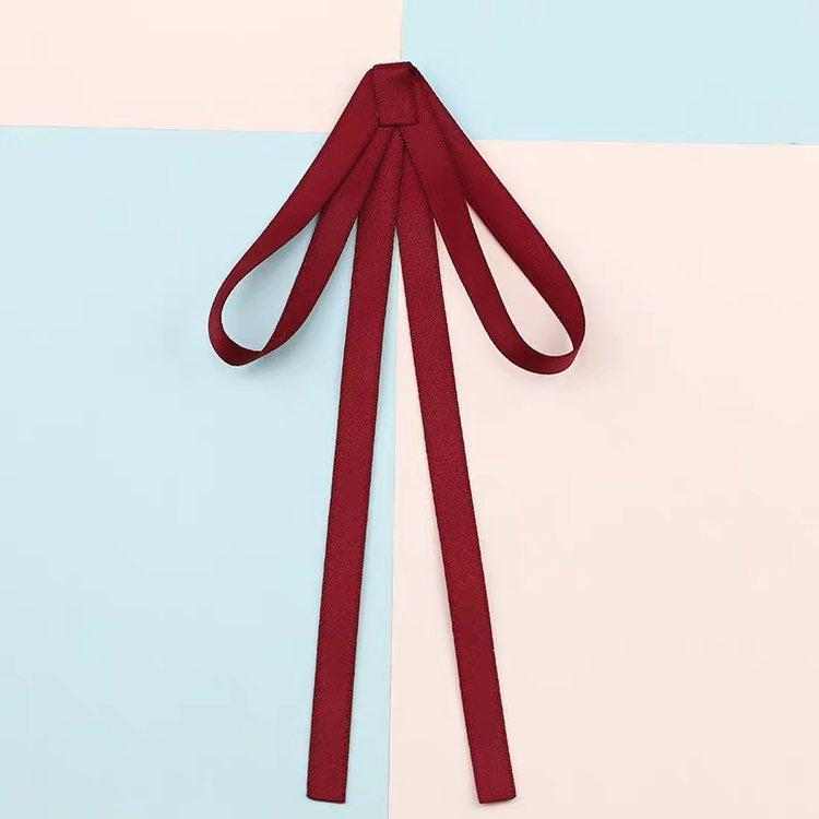 Lolita JK college style ribbon bow tie r