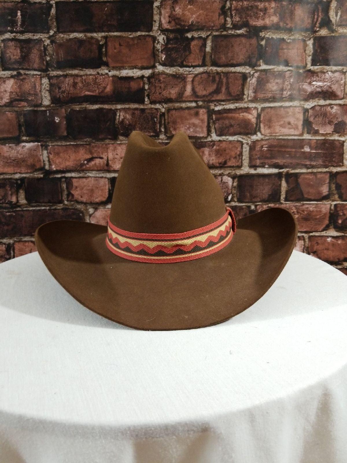 Larry Mahans Cowboy Hat by Resistol