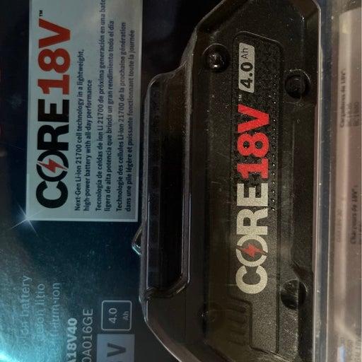 Bosch CORE 18V 4.0 amp Litho-Battery