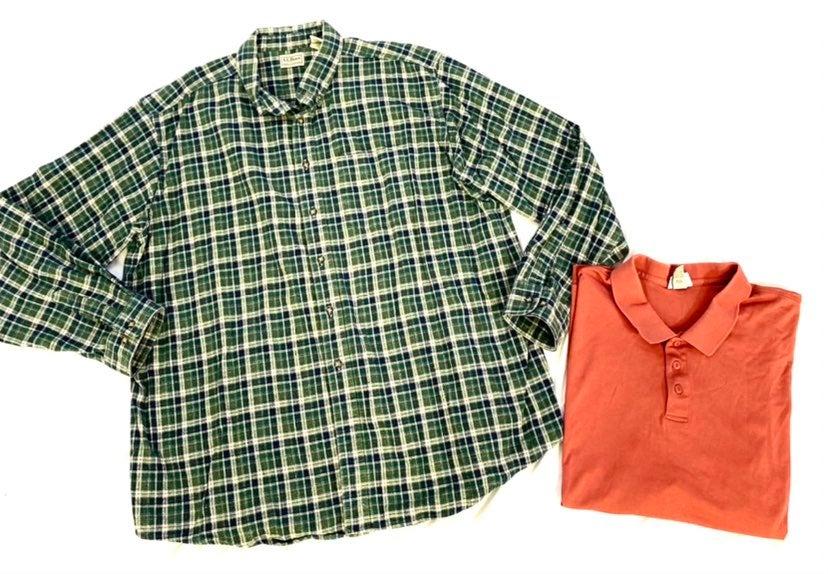 ll bean mens button down shirt
