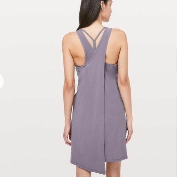 Lululemon Early Morning Dress Purple 10