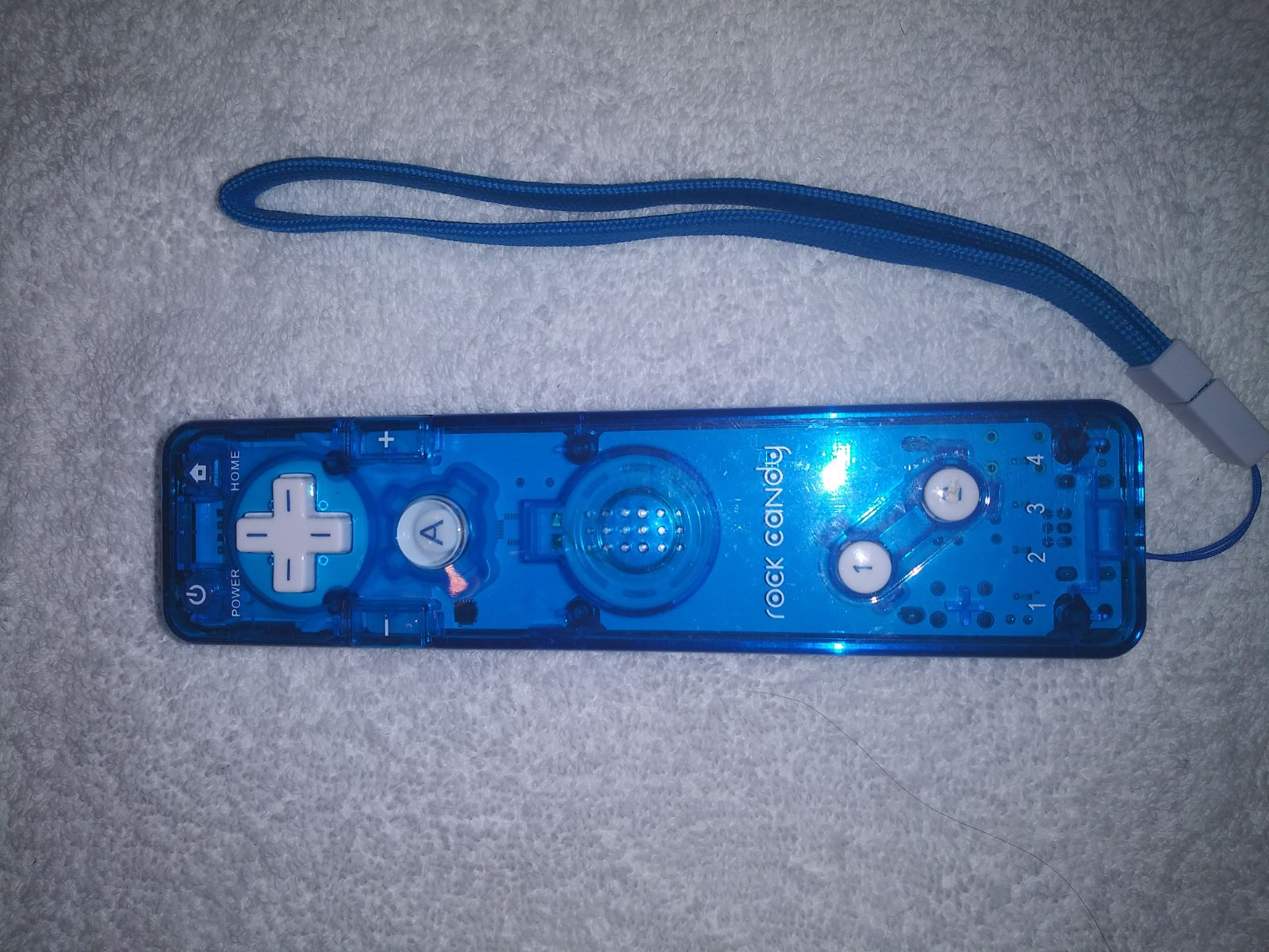 Parts missing wii rock candy remote