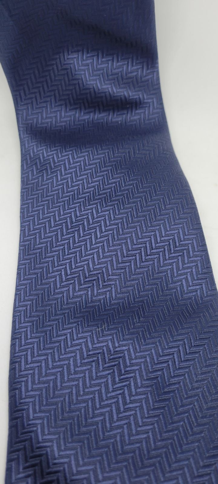 Blue patterned Men's tie