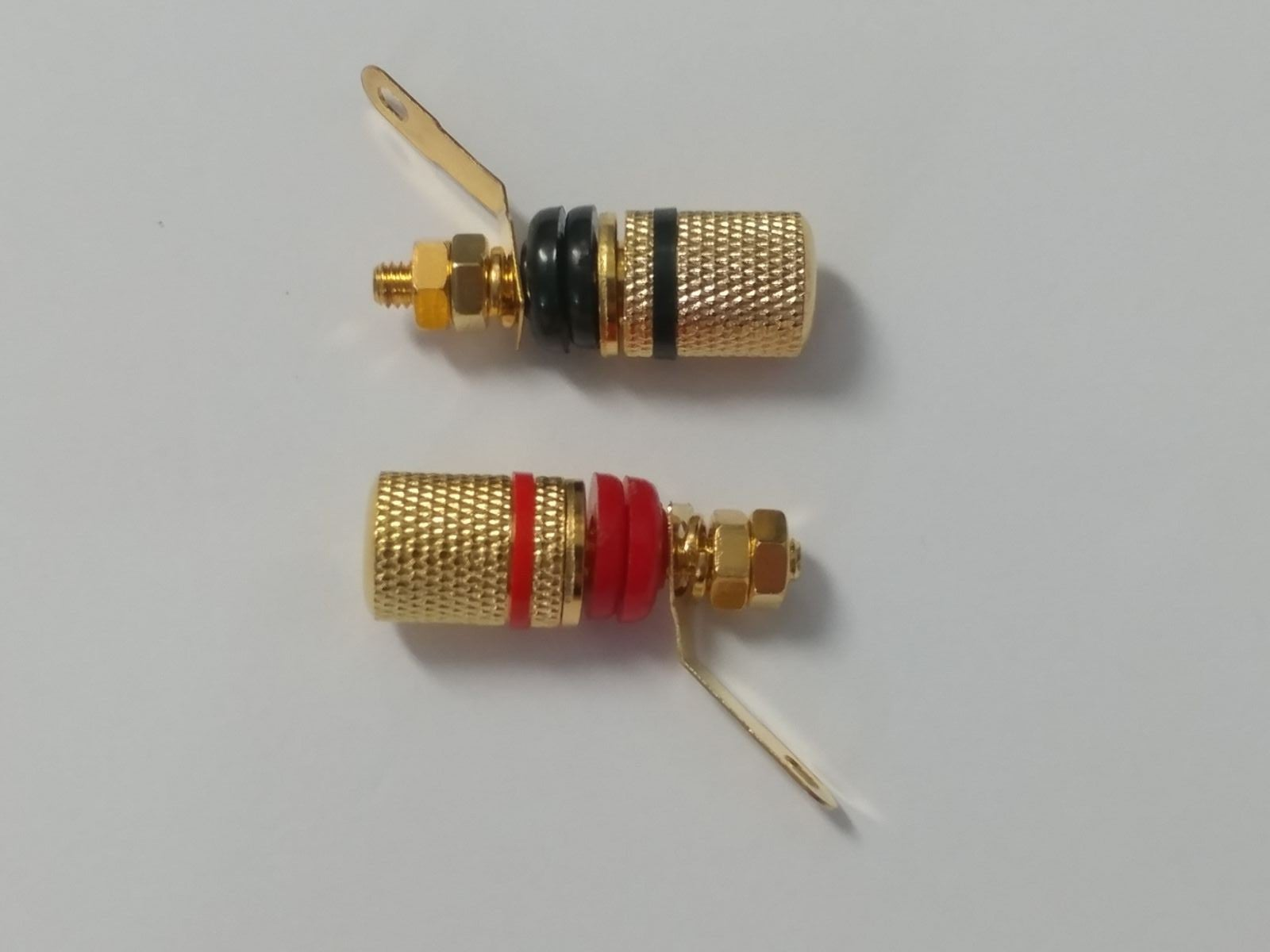 2pc GOLD Binding Post Plug Terminal