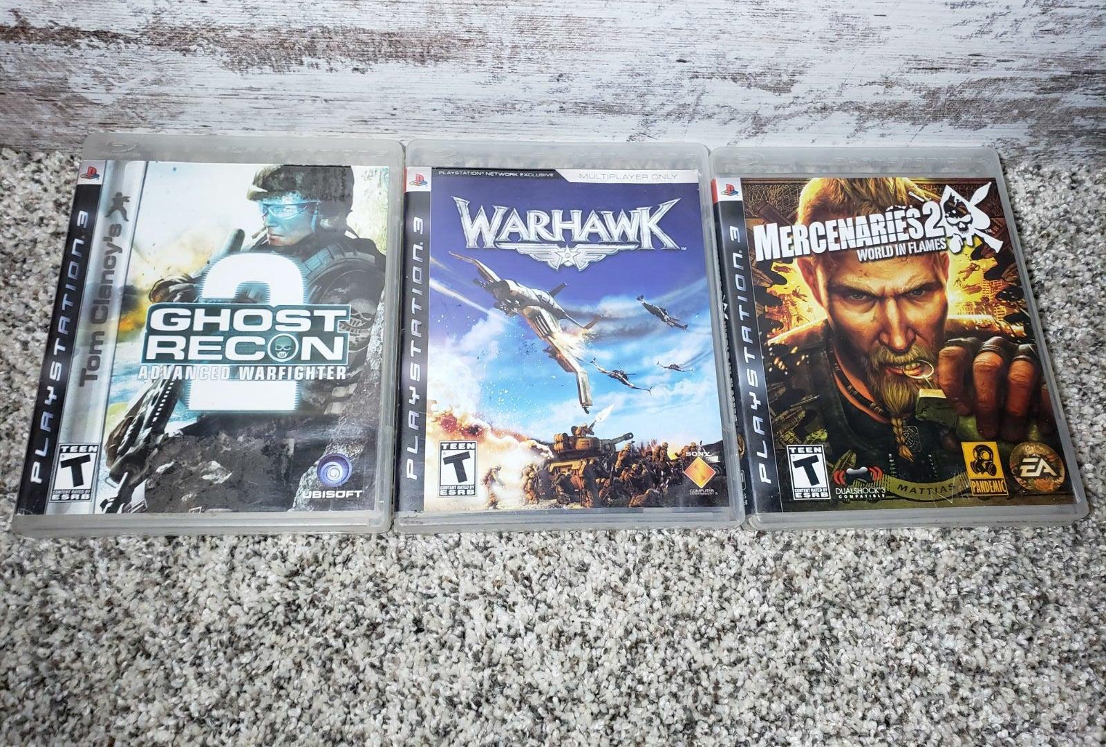 Playstation 3 games/lot