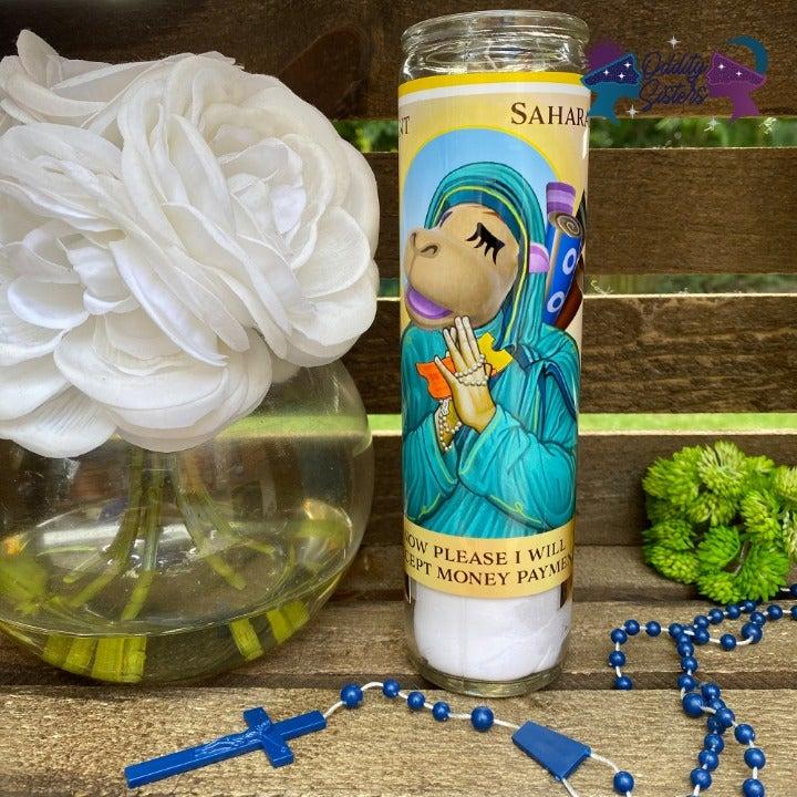 Saint Sahara Prayer Candle