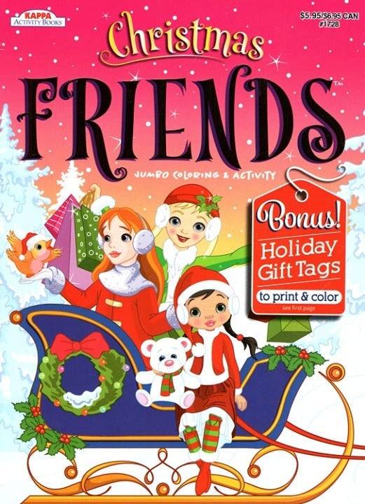 Christmas Friends - Coloring Book