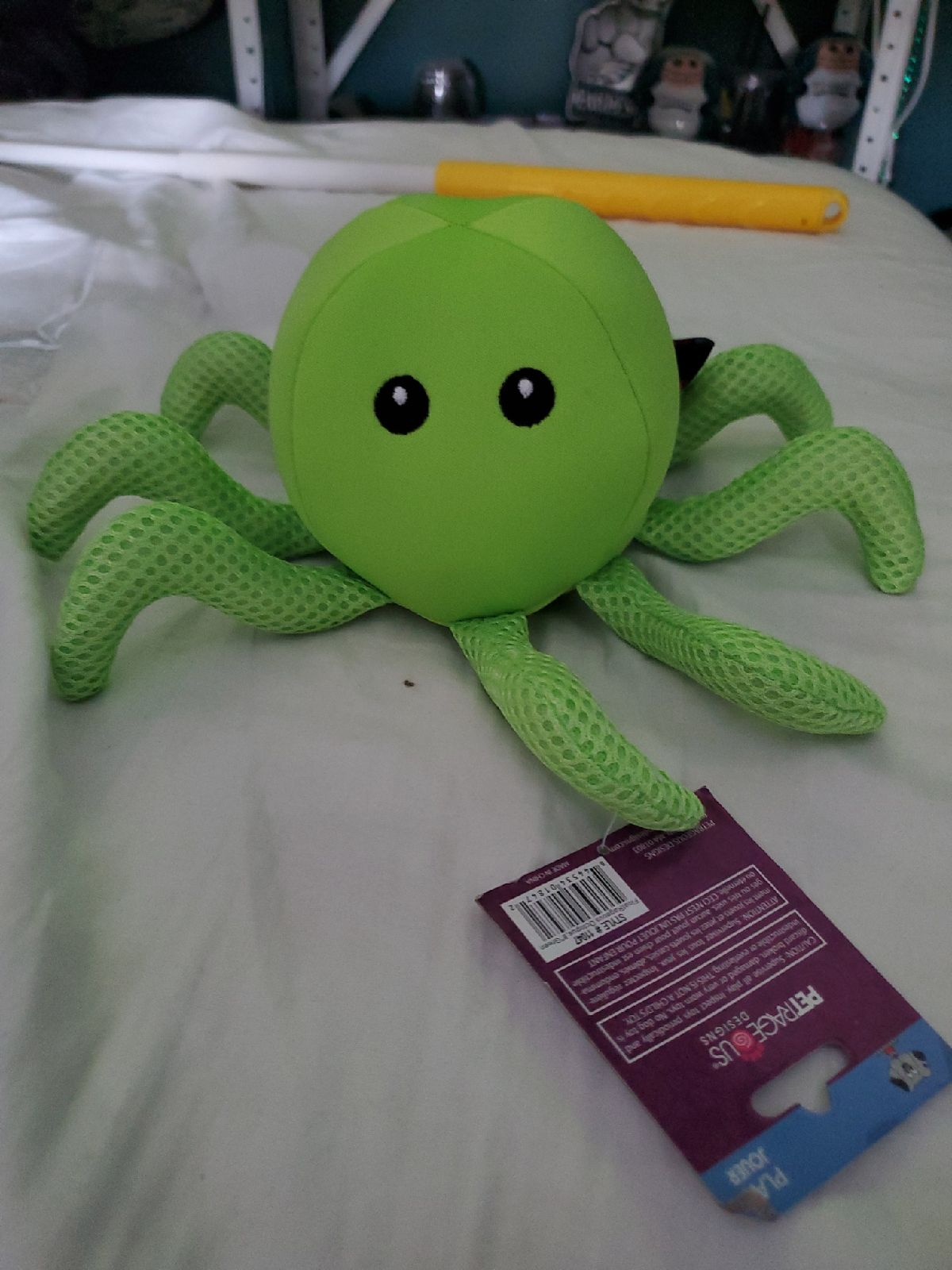 Petrageous floatrageous octopus dog toy