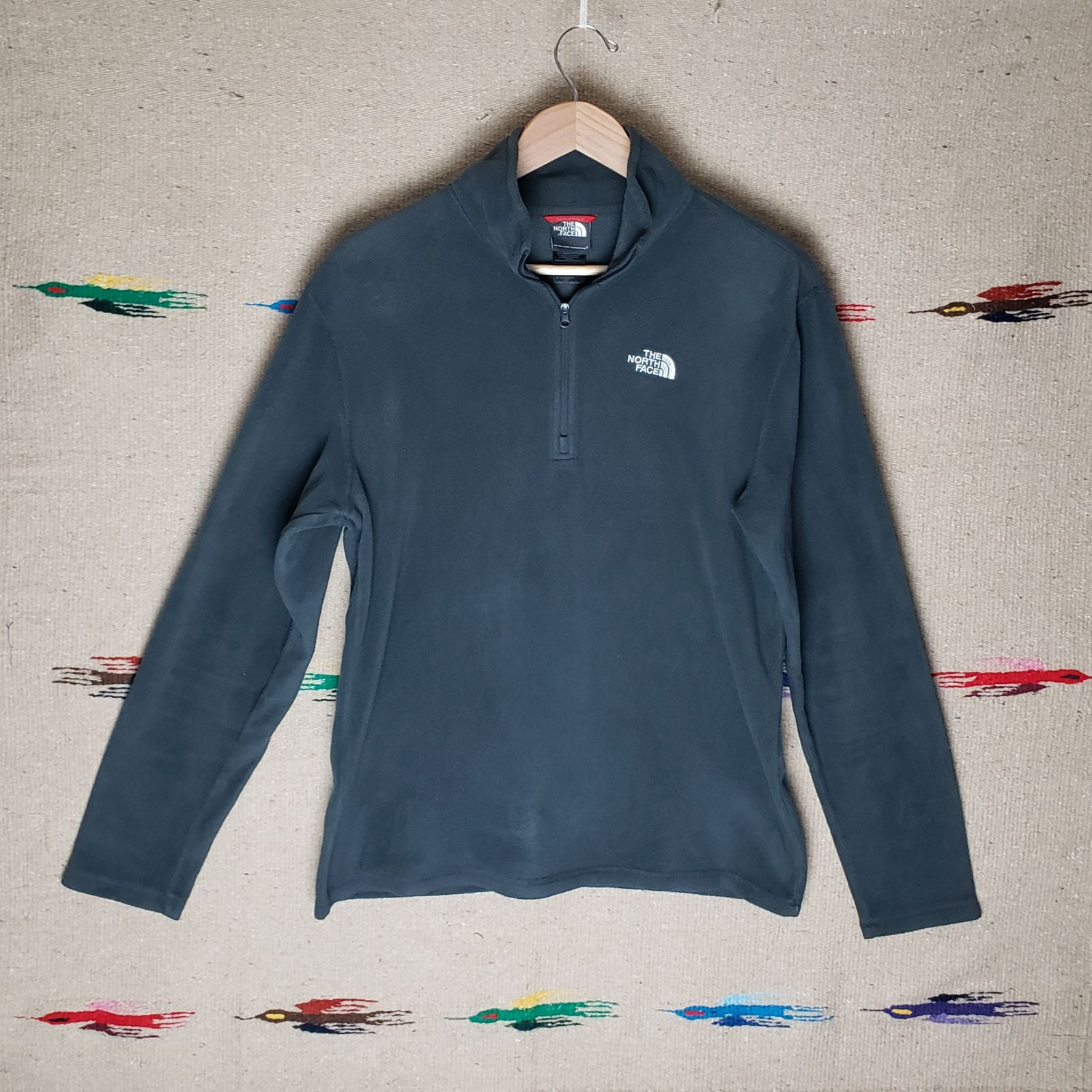 The North Face fleece pullover mens S