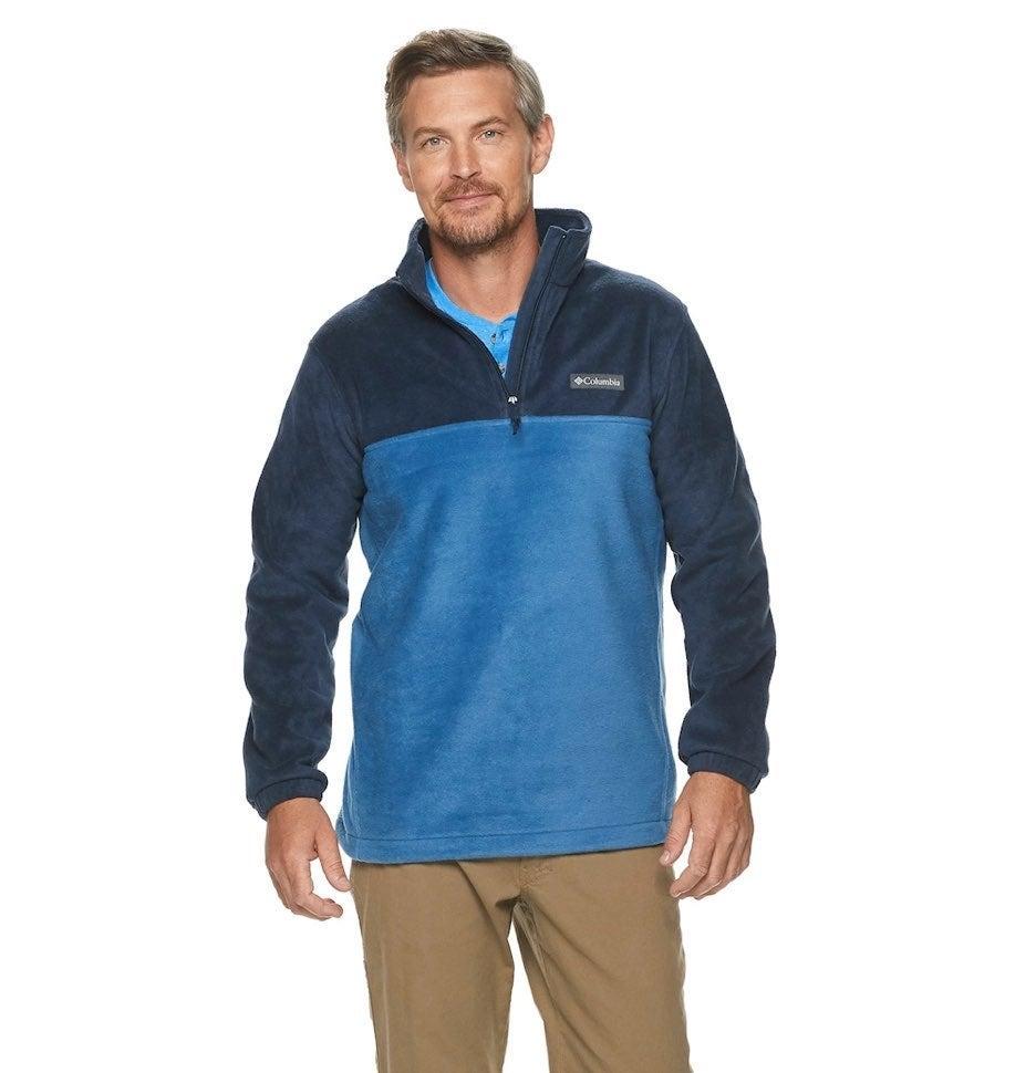 Columbia Mountain Fleece Half-Zip XL NWT