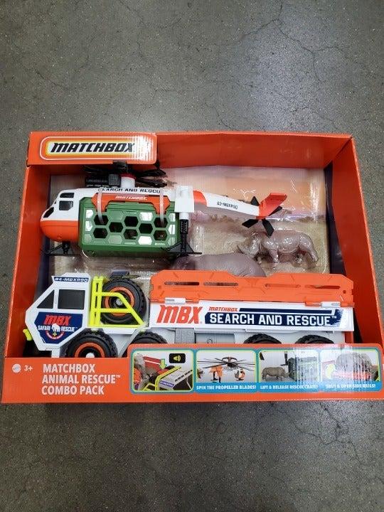 Matchbox Animal Rescue Vehicles Combo