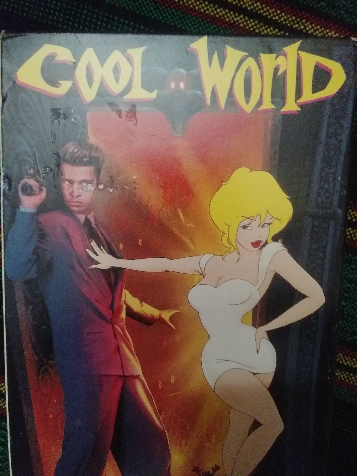 COOL WORLD - VHS movie Rare 1992 Brad Pi
