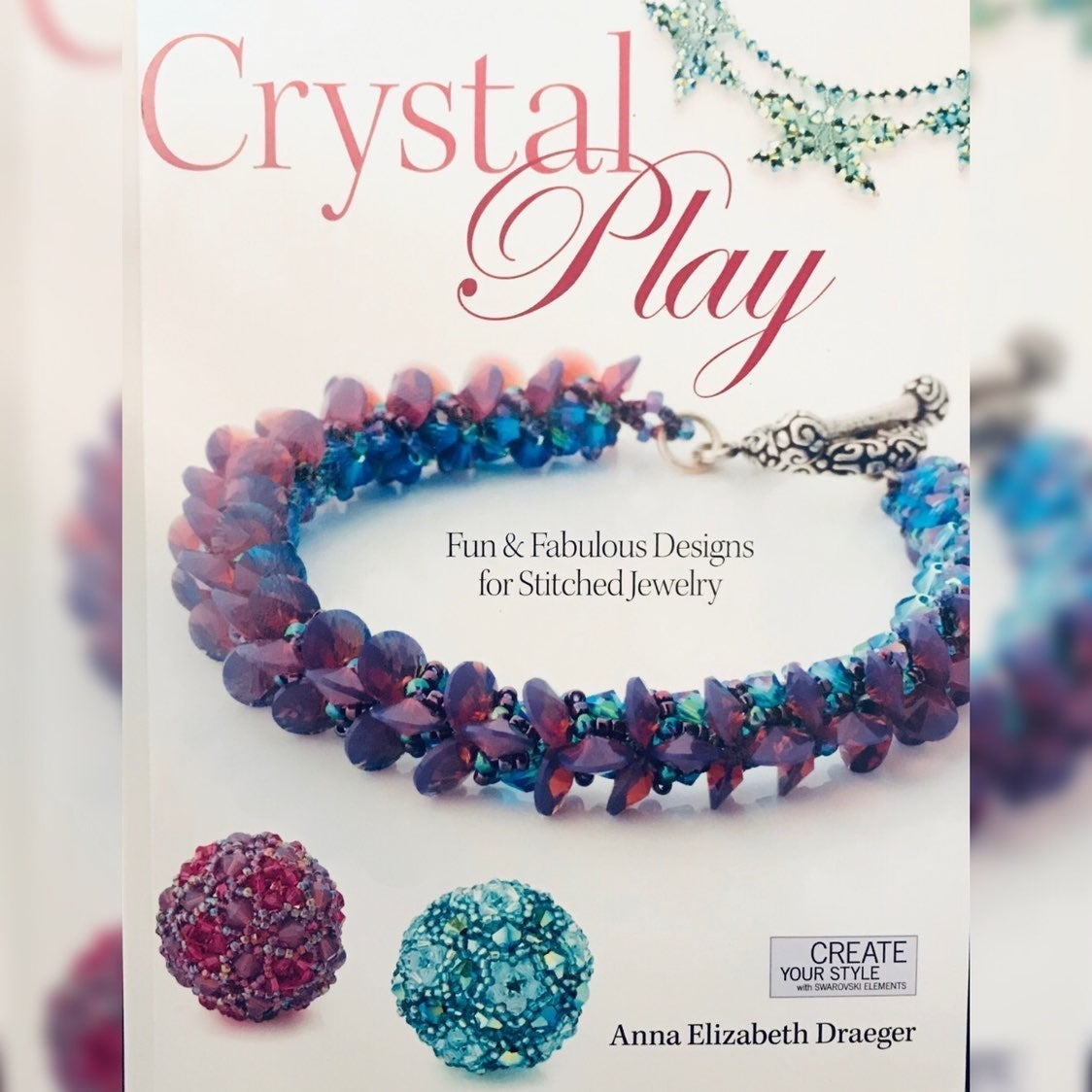 Crystal Play: Stitched Jewelry Designs