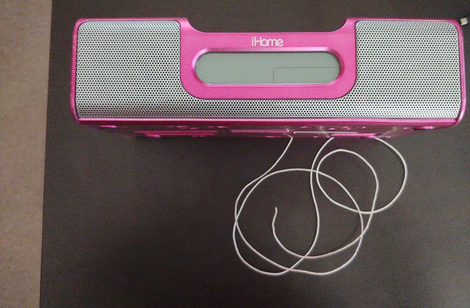 iPod/iPhone SPEAKER DOCK, 30-Pin Pink