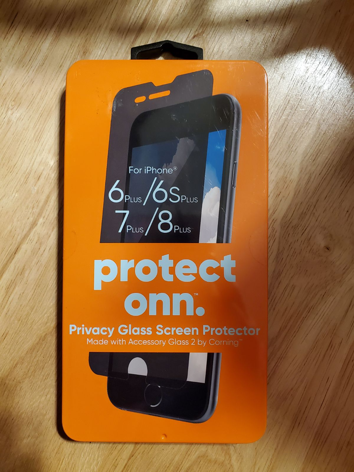 Protect onn. Privacy glass screen protec