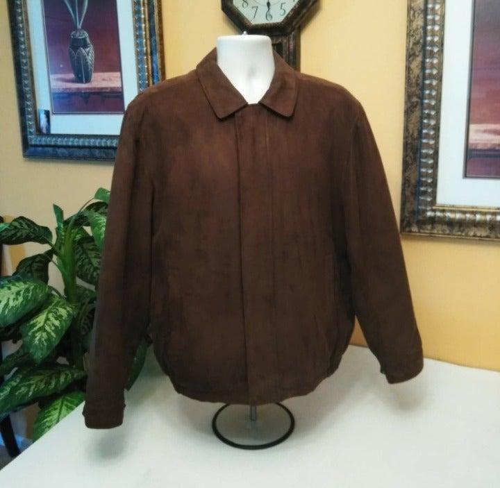 Perry Ellis Portfolio Microsuede Jacket