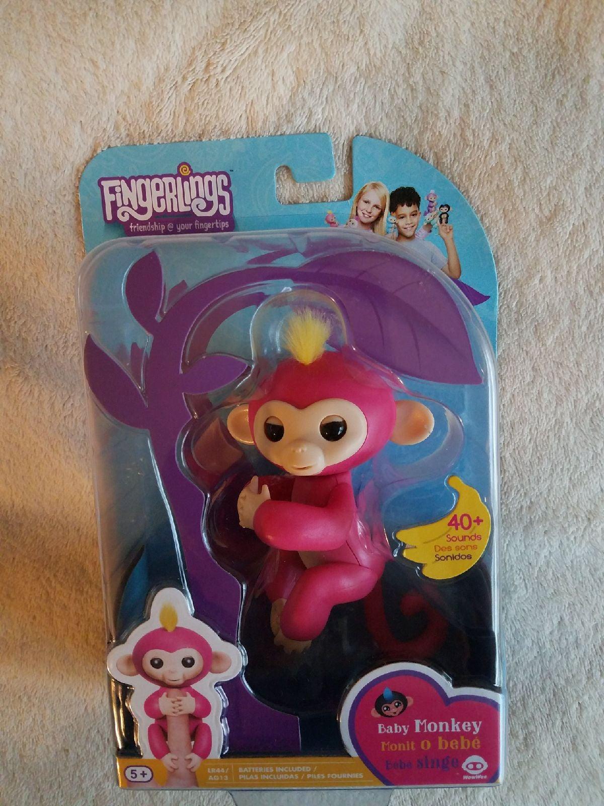 Fingerlings Baby Monkey