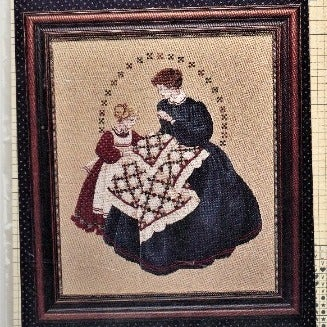 """CROSS STITCH PATTERN: """"THE QUILTMAKER"""""""