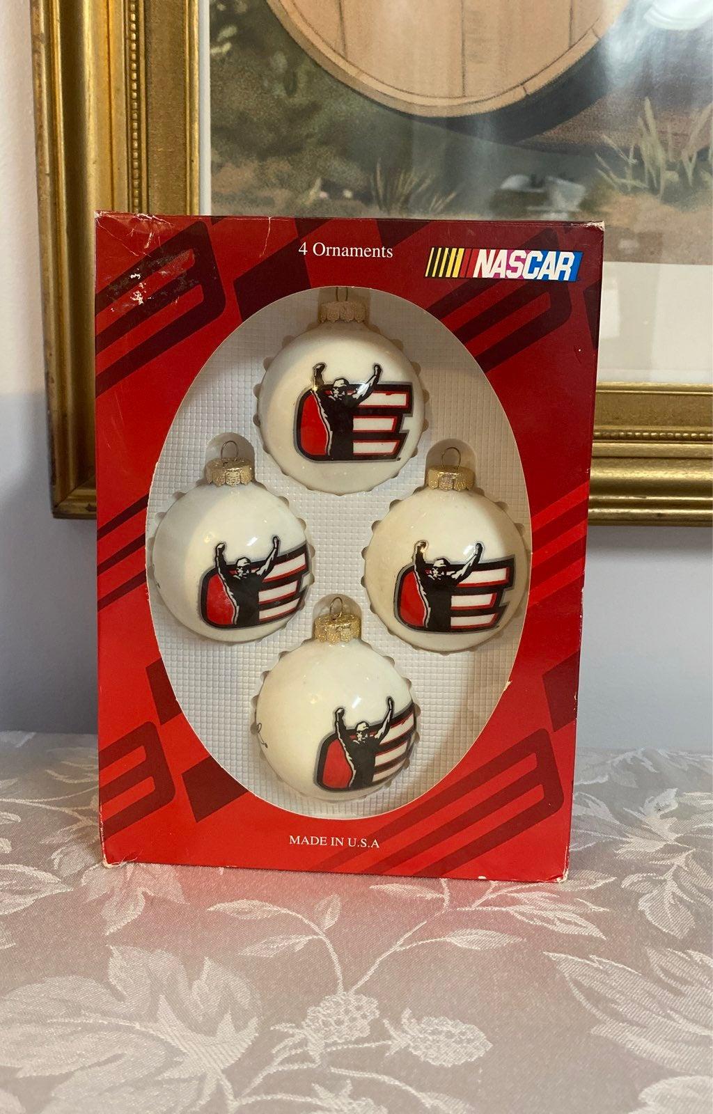 Dale Earnhardt Ornaments Box of 4
