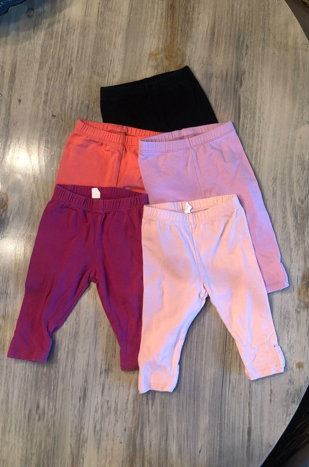Baby Gap Bow Legging Lot