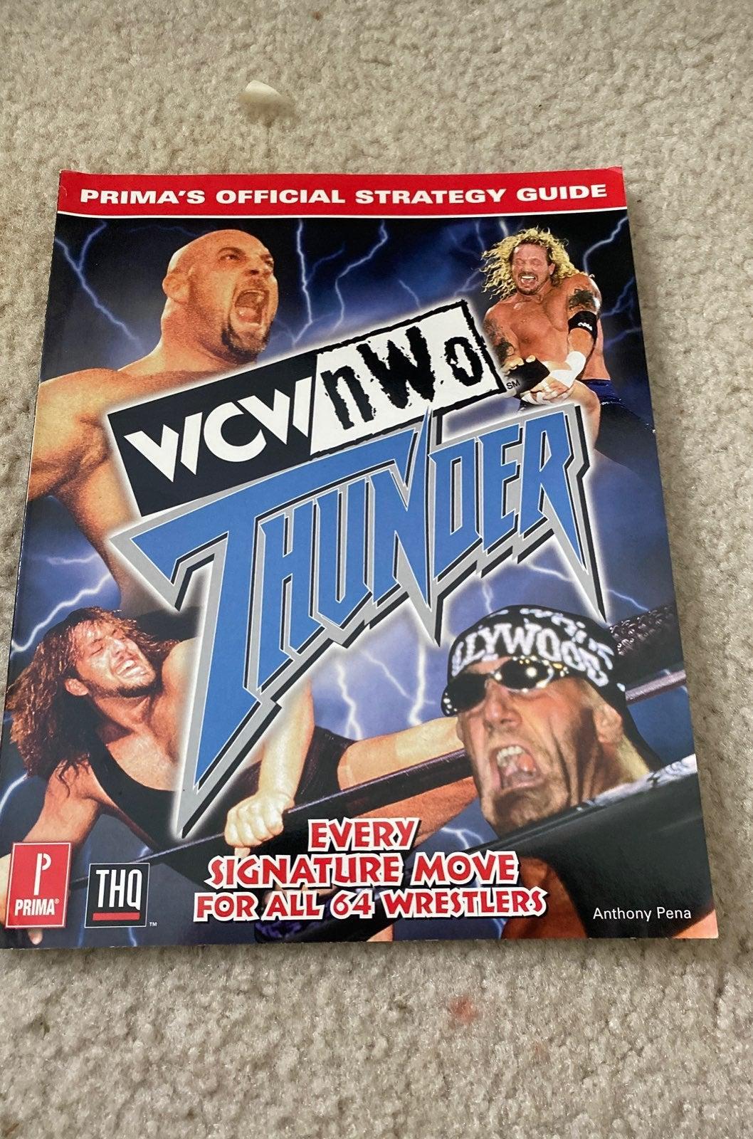 WCWNWO THUNDER Strat Guide