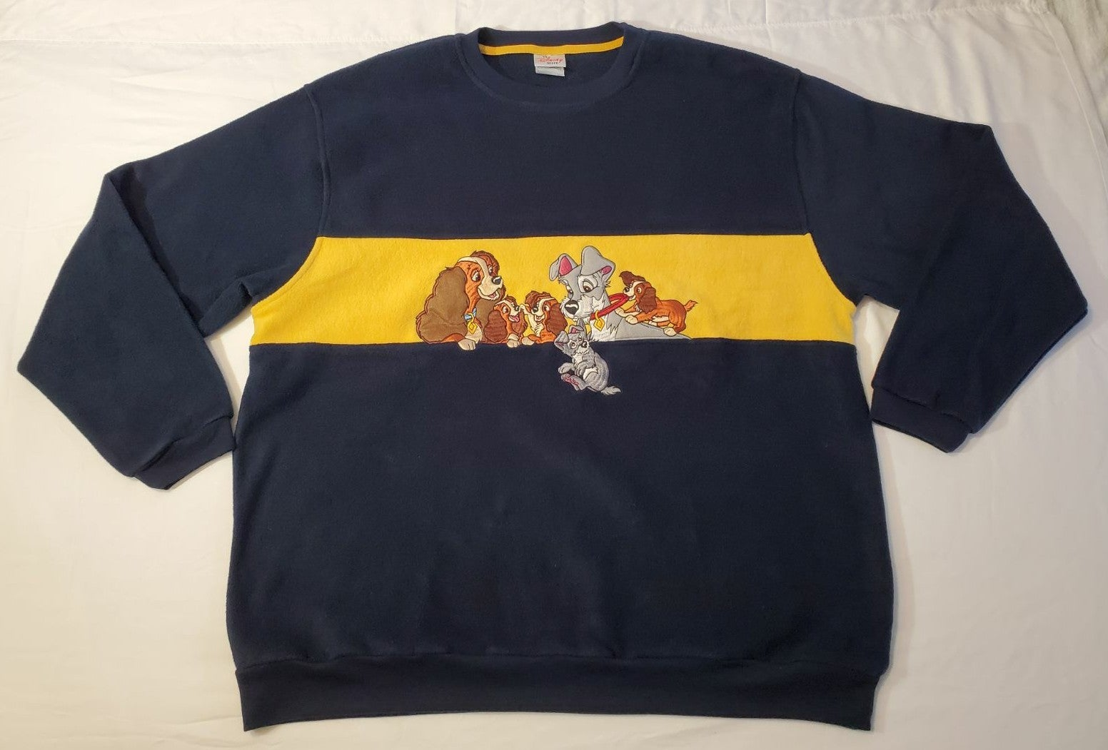 Lady and The Tramp Embroidered Sweater