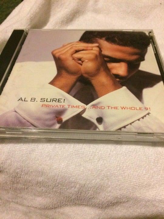 AL B. Sure! Private Times CD