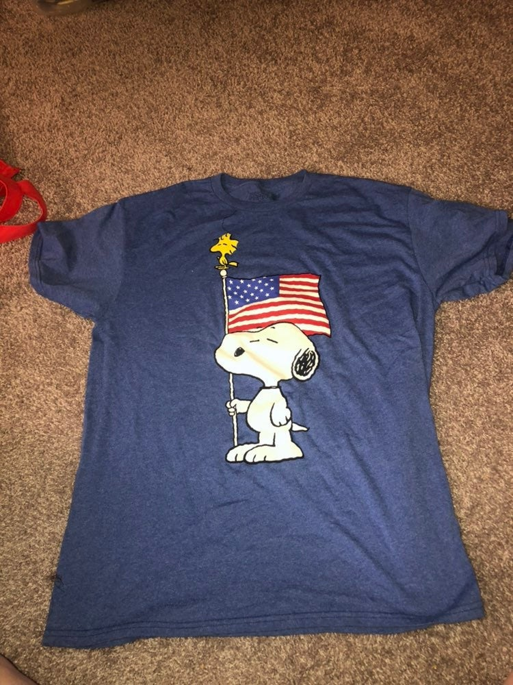 Peanut Snoopy 4th of July Shirt