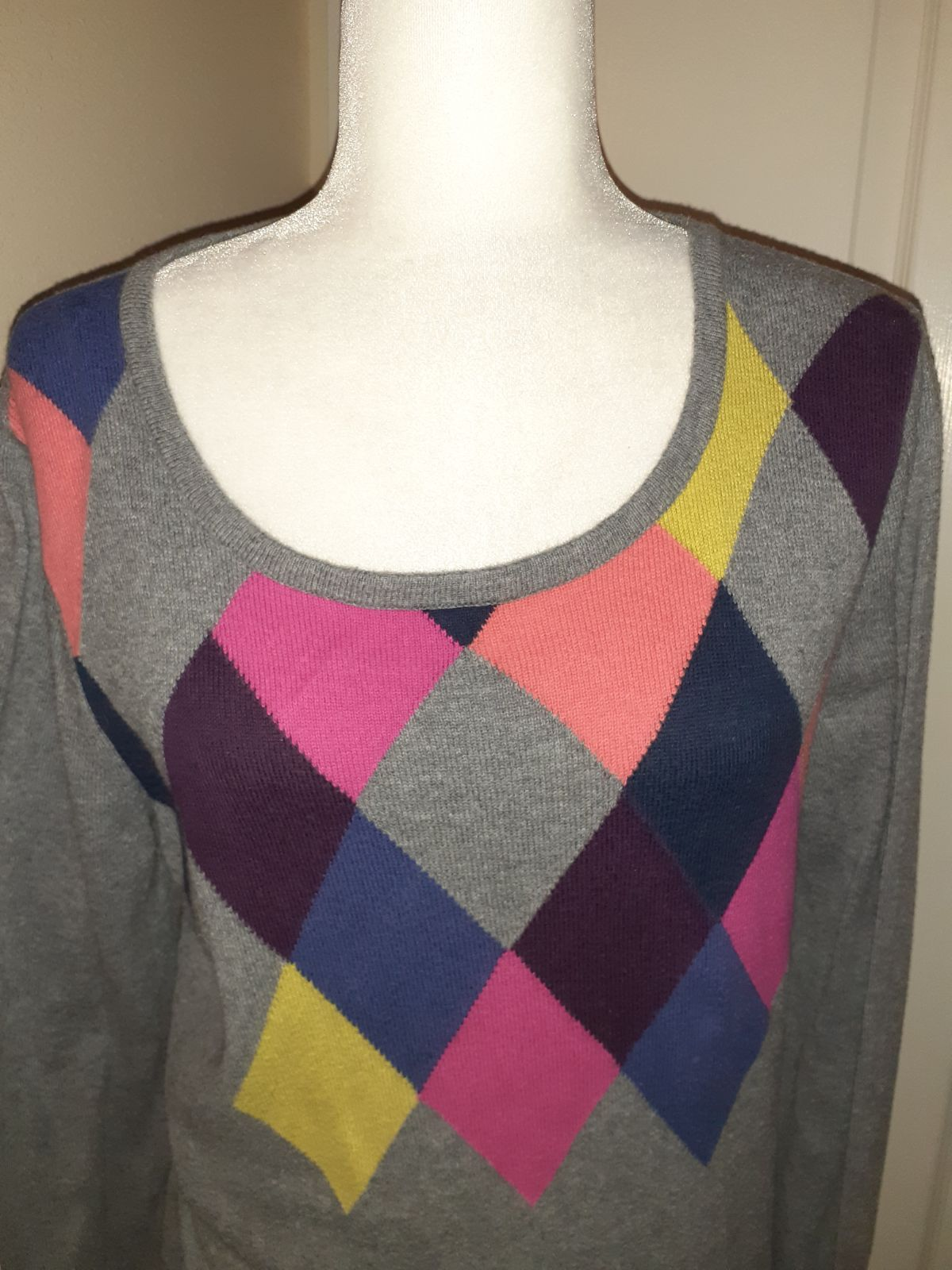 Sweater G.H bass co large cashmere blend
