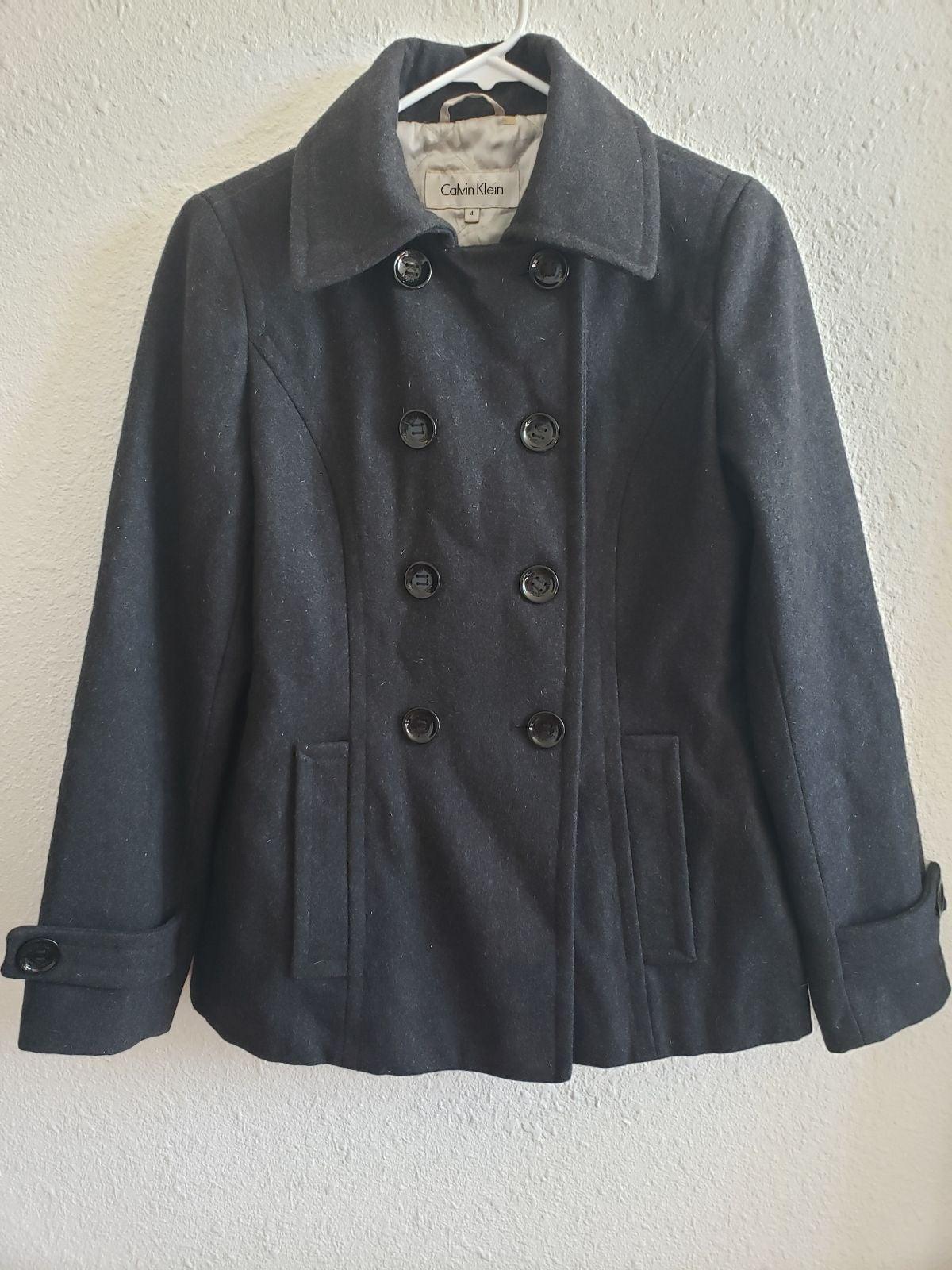 Calvin Klein Wool/polyester Coat